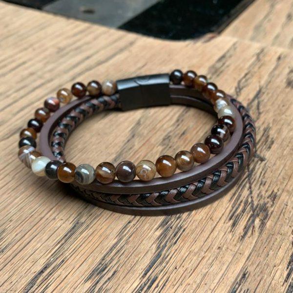leather-kralen armband2